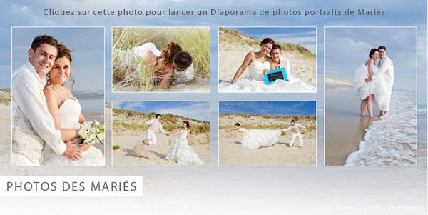 cliquez sur la vignette pour visualiser le diaporama photos de portraits de maris - Photographe Mariage Val D Oise